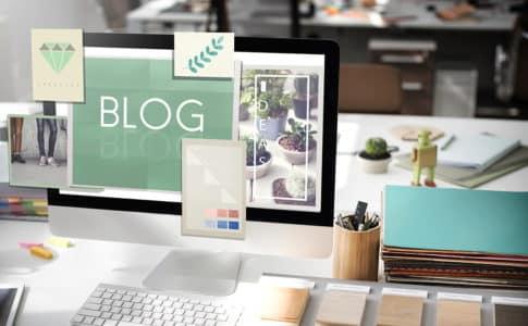 ブログの始め方を解説する記事のイメージ